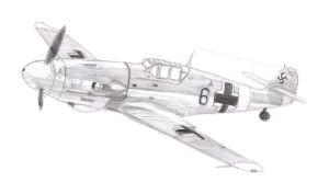 German WWII plane by bobmeh