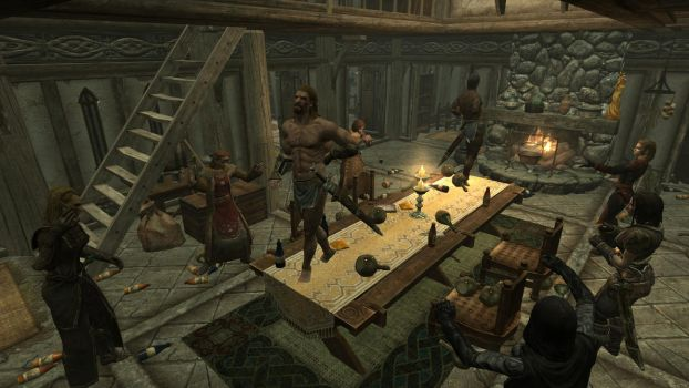 Party at the Dovahkiin. Part 9. The Biggest Sword by totalfreak2002