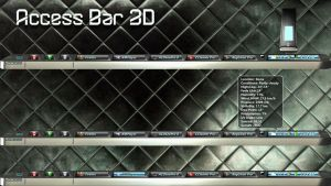Access Bar 3D for xwidget by jimking