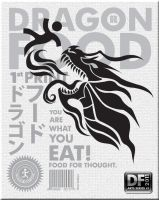 Dragon Food 1st print by Bourrouet