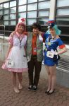 Animecon 2015 - Brock and the girls by My13Memories