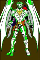 a superhero from the future by goliad
