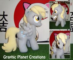 My Little Pony Derpy Hooves Plush by GraphicPlanetDesign