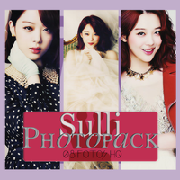 Photopack Sulli-f(x) 013 by DiamondPhotopacks