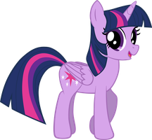 My eleventh Twilight Sparkle, vector. by Flutterflyraptor