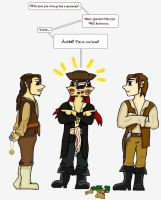 Captain Jack look at your rum! by Eluned