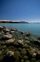 Lake Pukaki New Zealand by Thrill-Seeker