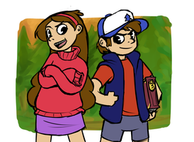 Mystery Twins by Joyfulldreams