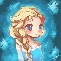 Frozen - Elsa by luminaura