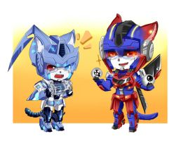 CM: TF OCs Kitty version by JinoSan