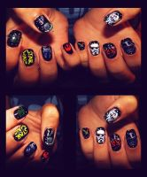 Star Wars Nails by KariInlove