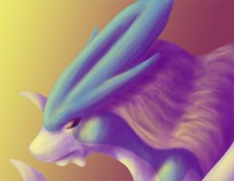 Suicune by AerialReavers