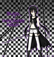 Black Imaginary Angel by Smartanimegirl