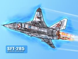 SFT-285 in sky by TheXHS