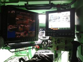 Terrex ICV Behind the Driver's Seat by SoFDMC