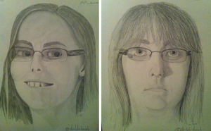 Self-portraits -- attempt 1 by Shiloh-Tovah