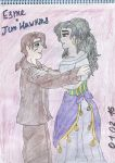 My fav shippings - Jim x Esmeralda by SkyCircle777