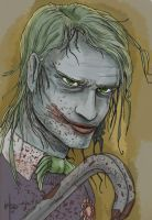 Joker portrait by GeoPhreak