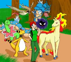 HeartGold Team by CuppaStars