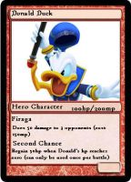 KH2FM+ Cards, Donald Duck by sno-the-hedgehog