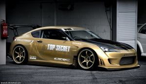 TOP SECRET Toyota FT-86 by BramDC