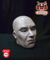 1.6 Head Sculpture Hitman 47 2 by wongjoe82