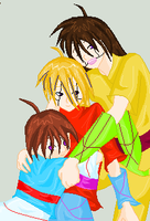 KUN Series-Len, Jesse, Hito by BeybladerSteph-chan