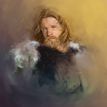 The bravest viking by Ssarawolf
