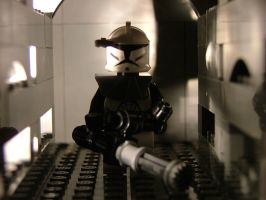 Lego arc trooper by m-steel