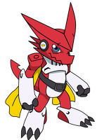 -:Shoutmon the King:- by Adam1704