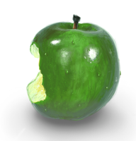 Painting Test - Apple by sfox8