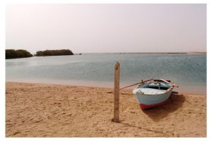 Boat in ras Mohamed Park by mitch2004