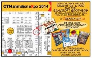 CTN Expo 2014 Booth by tombancroft