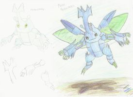 Mega Heracross Idea by lemonthecombustible