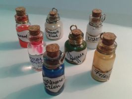 Harry Potter Potions by valaina-williams