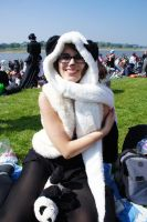 Panda auf dem Japantag by Power-Barbie