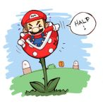 Mario's getting eatennnn by CplSquee