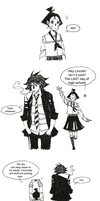 Karin and Lincoln little comic 1 by molnareszter