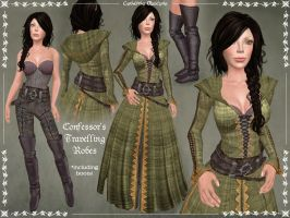 Confessor's Traveling Robes by Elvina-Ewing