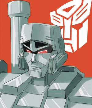 Megatron the Autobot by Zucchinna
