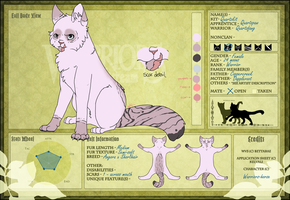 Quartzfang of HeatherClan WVS by Teahorse