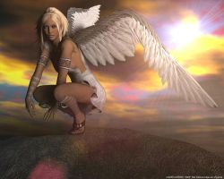 Angel dream by Chrisworld2000