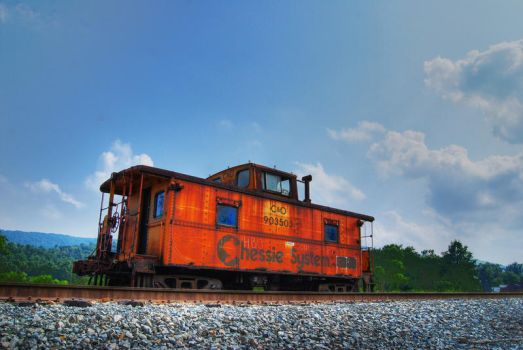 Caboose HDR by Logicalx