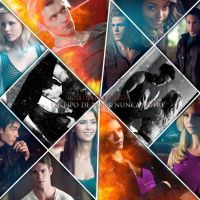 The vampire diaries collage by QuinnFabrevans