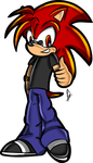 Comission-SonicXfan .:Chris:. by Gie