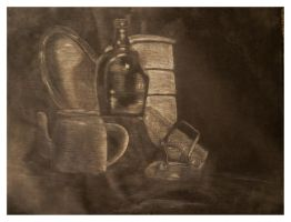 Still Life 9 Old Works by SILENTJUSTICE