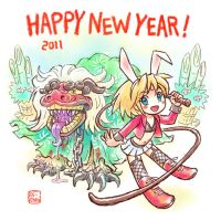Happy New Year 2011 by oi-chan