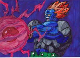 Super Android 13 about to blast by ChahlesXavier