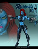 MYSTIQUE from X-MEN or XMEN by DSNG