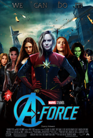 A-force movie poster by ArkhamNatic
